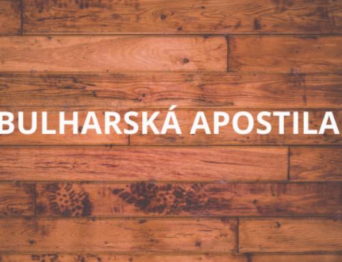 BULHARSKÁ APOSTILA